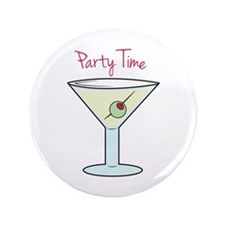 "Party Time 3.5"" Button"