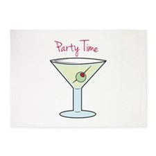 Party Time 5'x7'Area Rug