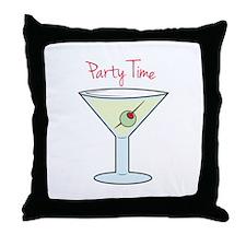 Party Time Throw Pillow