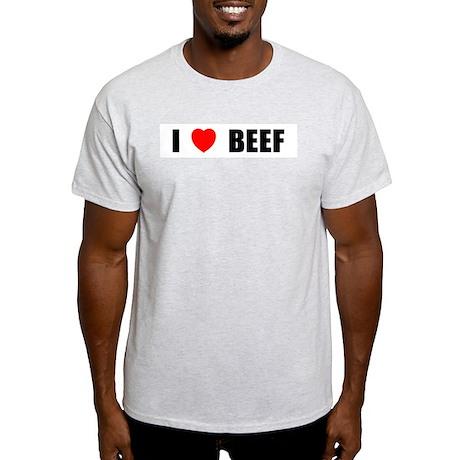 I Love Beef Light T-Shirt