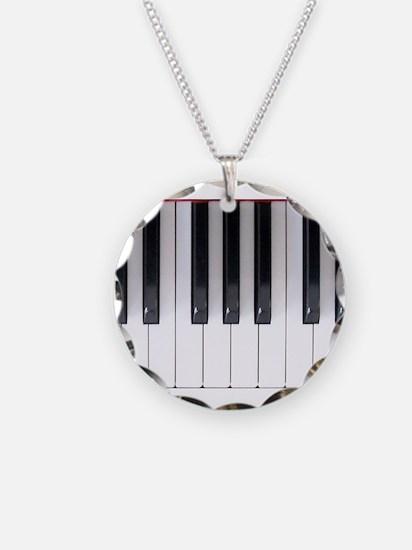 Keyboard 7 Necklace