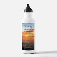 ROMANS 8:28 Water Bottle