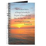 Bible verse Journals & Spiral Notebooks