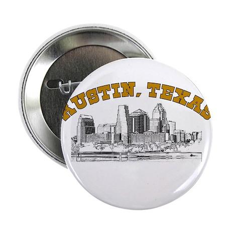 """Austin, Texas 2.25"""" Button (100 pack)"""