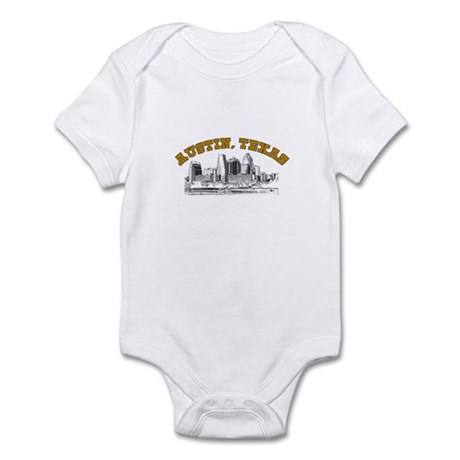 Austin, Texas Infant Bodysuit
