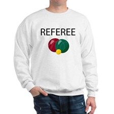 bocce-referee.png Sweatshirt