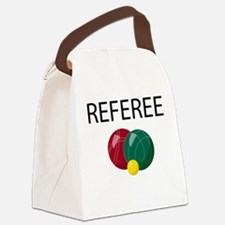 bocce-referee.png Canvas Lunch Bag