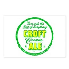 Croft Cream Ale-1947 Postcards (Package of 8)