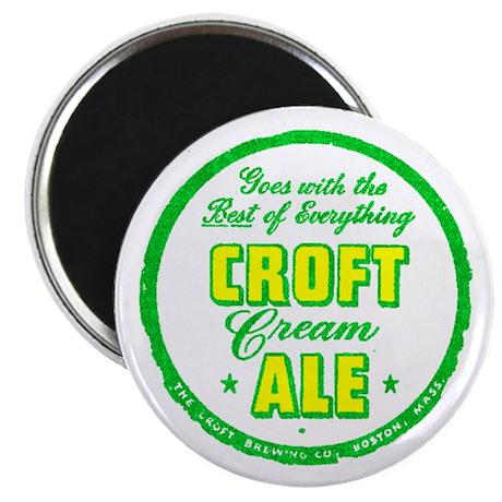 Croft Cream Ale-1947 Magnet