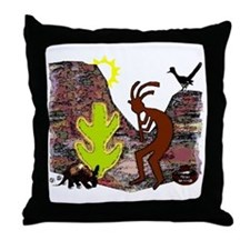 Western Mesa t-shirt shop Throw Pillow