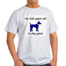 50 dog years blue dog 1 T-Shirt
