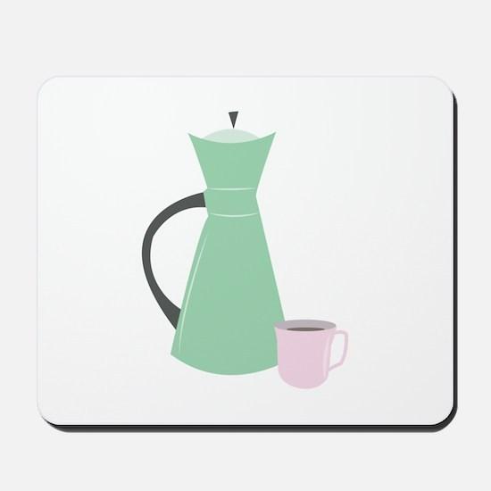Coffee Pot Mousepad