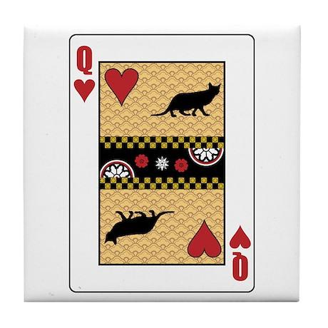 Queen Ocicat Tile Coaster