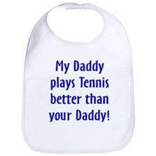 Cute Tennis baby Bib
