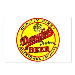 Daeufer's Beer-1941 Postcards (Package of 8)