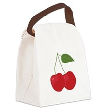 Cherries Canvas Lunch Bag