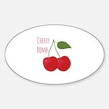 Cherry Bomb Decal