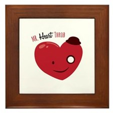 Heart Throb Framed Tile