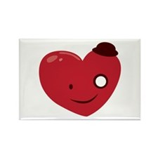 Smiley Heart Magnets