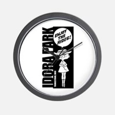 Idora Balloon B&W Wall Clock