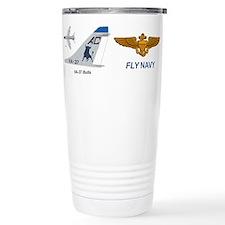 Cute Bull Travel Mug