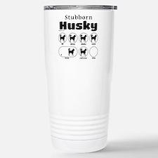 Stubborn Husky v2 Stainless Steel Travel Mug