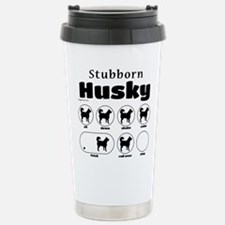Stubborn Husky v2 Travel Mug