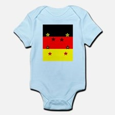 Germany four Stars Body Suit