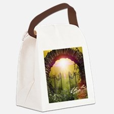 The gate to the land of dreams Canvas Lunch Bag