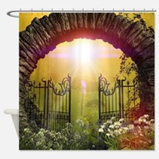 The gate to the land of dreams Shower Curtain