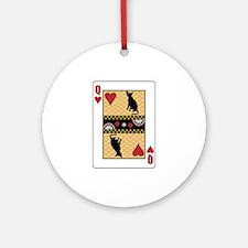 Queen Havana Ornament (Round)