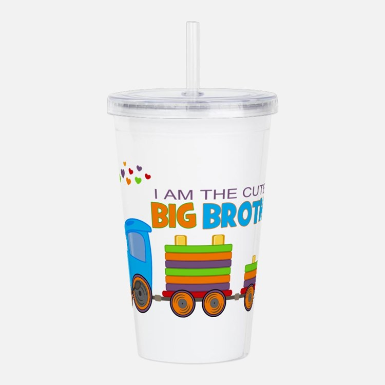 I am the Cutest Big Br Acrylic Double-wall Tumbler