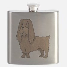 Sussex Spaniel Flask
