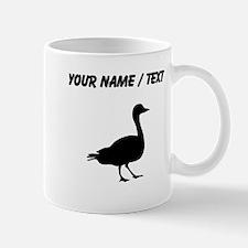 Custom Duck Silhouette Mugs