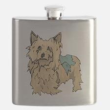 Australian Terrier Puppy Flask