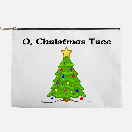 O Christmas Tree Makeup Pouch