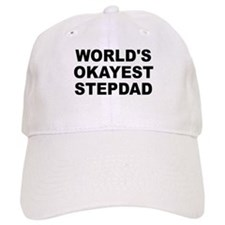 World's Okayest Stepdad Baseball Cap