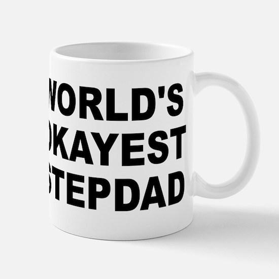 World's Okayest Stepdad Mug