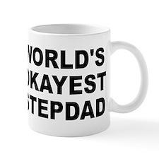World's Okayest Stepdad Small Mug