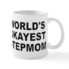 World's Okayest Stepmom Small Mug
