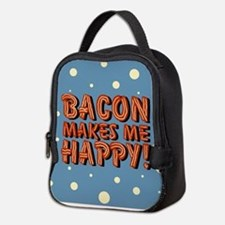 bacon-makes-me-happy_b.png Neoprene Lunch Bag