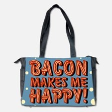 bacon-makes-me-happy_b.png Diaper Bag