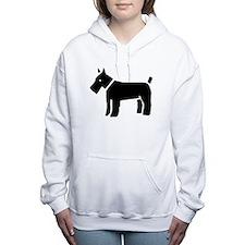 Kerry Blue Terrier Women's Hooded Sweatshirt