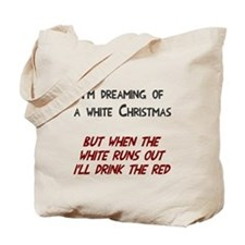 White wine Christmas Tote Bag