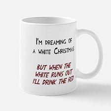 White wine Christmas Mug