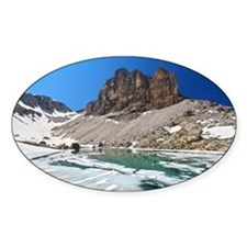 Dolomiti - lake Pisciadu Decal