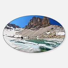 Dolomiti - lake Pisciadu Decal