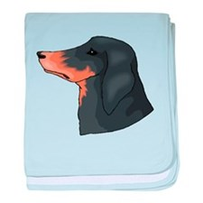 American English Coonhound baby blanket