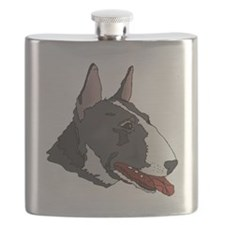 Miniature Bull Terrier Flask