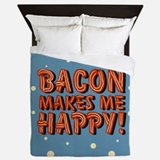 bacon-makes-me-happy_b.png Queen Duvet